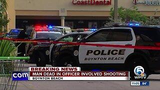 Robbery suspect shot dead by Boynton Beach police officer