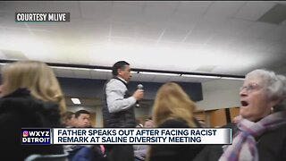 Father speaks out after facing racist remark at Saline Diversity meeting