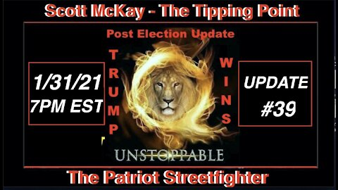 1.31.21 Patriot Streetfighter POST ELECTION UPDATE #39: Mainland CCP Targeted, Robinhood Revelations