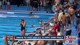 Omaha to Host 2021 U.S. Olympic Swim Trials