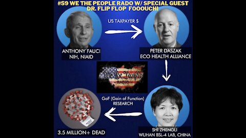 #59 We The People Radio w/ Special Guest Dr. Flip Flop Foooouuuuchi