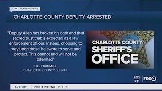 Charlotte County Deputy arrested