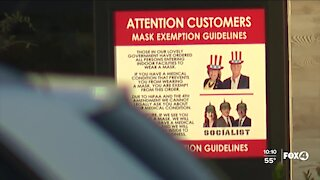 Naples business getting national attention for going maskless