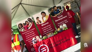 Food distribution held in West Palm Beach