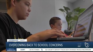 Advice on overcoming back to school concerns