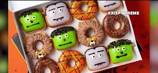 Krispy Kreme rolls out new Halloween donuts
