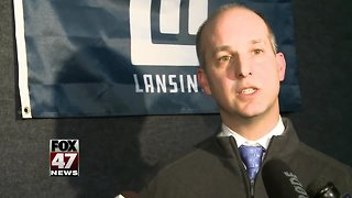 Mayor unveils new look for Lansing