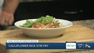 Shape Your Future Healthy Kitchen: Cauliflower Rice Vegetable Stir Fry