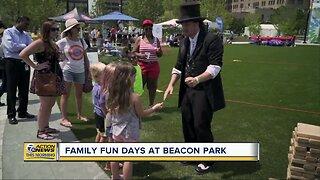 Free family fun days at Beacon Park in Detroit