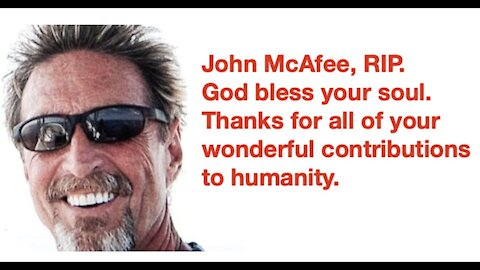 """John McAfee Interview - Get Your Soul Back - February 2020 - """"I Did Not Kill Myself"""" RIP (1946-2021)"""