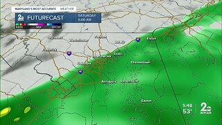Rain Arrives Into The Weekend