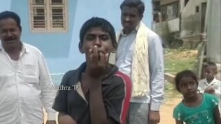 VIRAL VIDEO : A Village Boy Makes Wonderful Sounds with his Mouth | Local Talent |