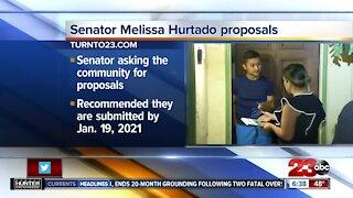 Senator Melissa Hurtado seeking residents' input