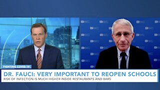 Dr. Anthony Fauci: Michigan's COVID Surge May Happen Other Places