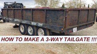 How to build a dump trailer Part I