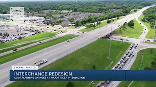 ODOT proposes new design for busy interchange in South Tulsa