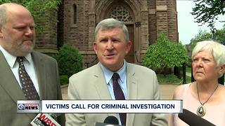 Sexual abuse victims call for bishops' resignations, criminal investigation of Buffalo diocese