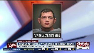 Arizona authorities investigation after body found