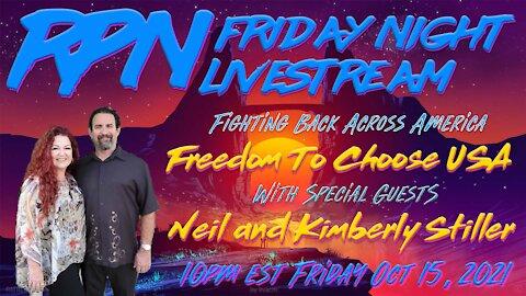 Freedom To Choose USA - Fighting Back on Friday Night Livestream