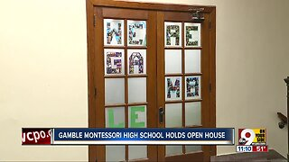Gamble Montessori High School holds open house