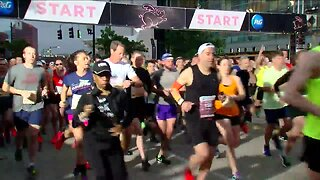 Winner of Half Marathon Comes From Michigan