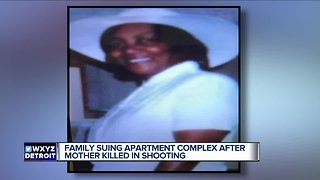 Family suing apartment complex after mother killed in shooting