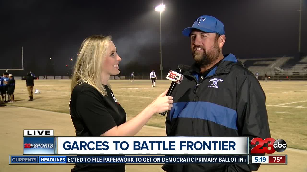 FNL live interview with Frontier Coach Chris Bandy