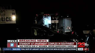 Standoff at Springs Apartments in southwest Bakersfield