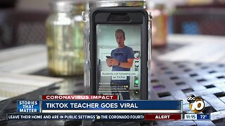 TIKTOK teacher goes viral