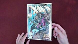 Reading Comic Books: Uncanny X-Men #266, 1990, First Appearance of Gambit, Marvel Comics [ASMR]