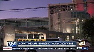 San Diego County declares emergency over coronavirus