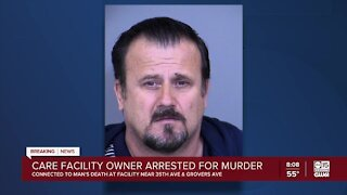PD: Phoenix care facility owner arrested for murder