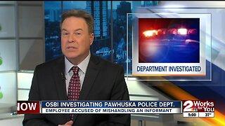 OSBI investigating Pawhuska Police Department