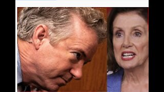 Rand Paul BLAMES Pelosi for insufficient security on January 6th