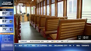 TECO Streetcar stations reopen after track work completed