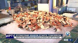 Stone crab season begins Tuesday in Florida
