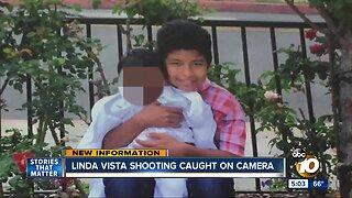 Linda Vista Shooting caught on camera