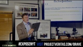 James O'Keefe Fires Back at NY Times Over Hit Piece on Project Veritas