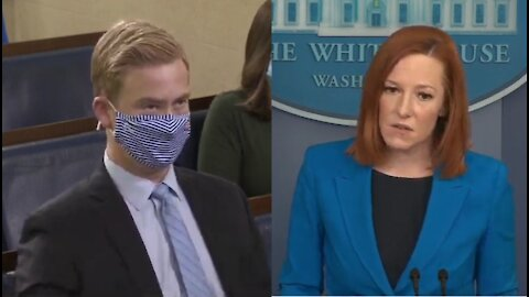 VP Blames Covid for Not Visiting Border- Psaki's Dumb Explanation Says It All