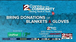 2 Cares for the Community: Warming Hearts and Hands Drive