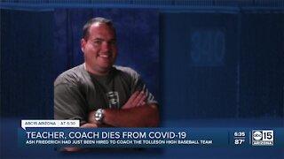Arizona teacher, coach dies from COVID-19