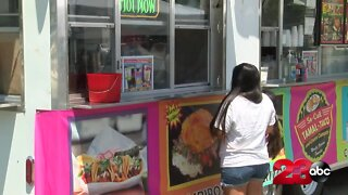 Food truck owner thanks the community