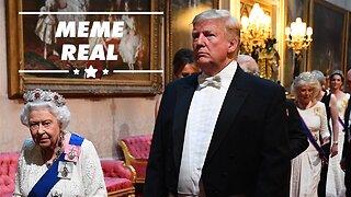 Los memes de la visita de Trump a Reino Unido