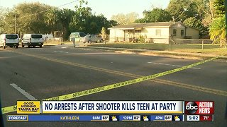 Police: 18-year-old woman shot, killed in Tampa during party