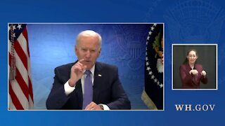 Biden Struggles to Read His Teleprompter