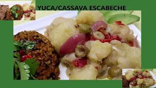 Puerto Rican Recipes: Yuca Cassava Escabeche