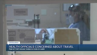 Health officials concerned about holiday travel