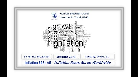 Corstet Inflation 2021: #6 - Inflation Fears Surge Worldwide