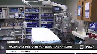 Hospitals prepare for election fatigue