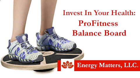 Invest In Your Health with a ProFitness Balance Board
